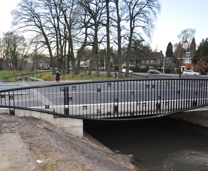 Nachtegaal bridge Almelo