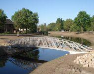 pedestrian bridge Almelose Aa