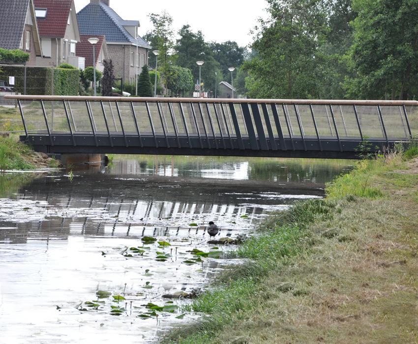 Wandelbrug Markgraven;voetgangersbrug;fietsbrug