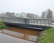 (English) pedestrian bridge Markgraven