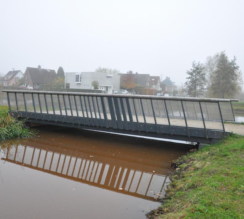 pedestrian bridge Markgraven