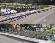 Brücken über dem Koekoeksbeek Hengelo