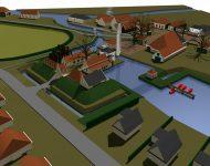 Chameleon village concept design