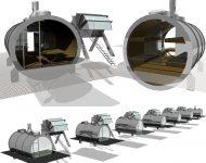 woudagemaal; recreatie; shelter; alternatief kamperen