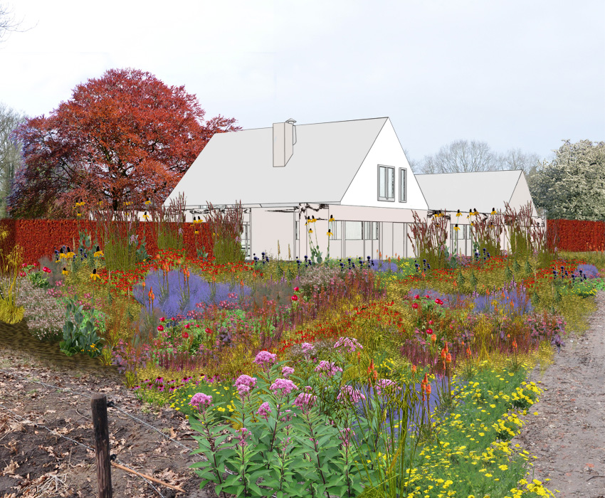(Nederlands) Landgoedtuin, tuin