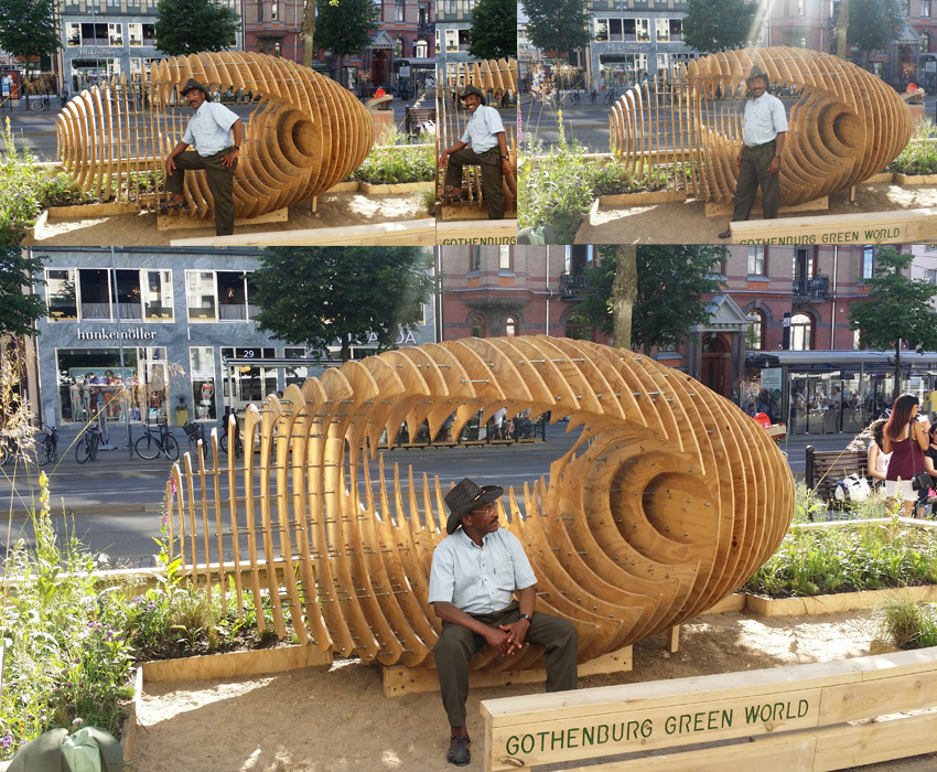 Pop up park Gothenburg Green World 2016