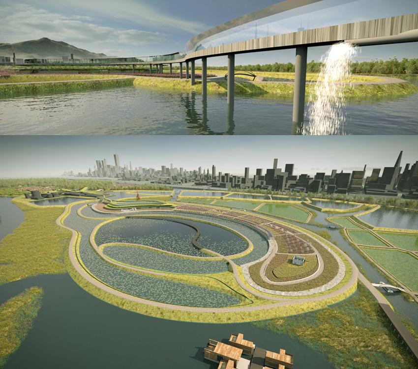 宜兴脑电波生命源与水管理概念项目