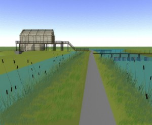 New water pumping station Leeuwarden